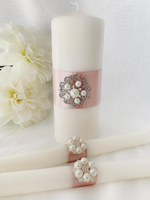 Unity Candles Ireland Personalised unity candles wedding candles