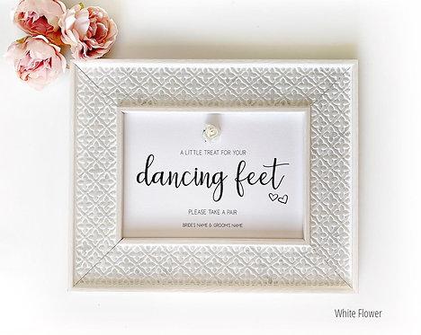Wedding Signs | Dancing Feet