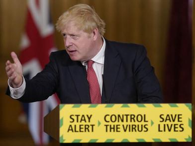Entre o negacionismo e a ciência: o discurso de Boris Johnson
