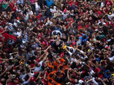 Lula livre, o discurso do resgate de um Brasil feliz