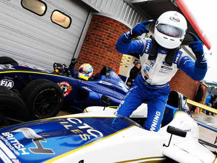 Richardson Racing secures breakthrough British F4 victory
