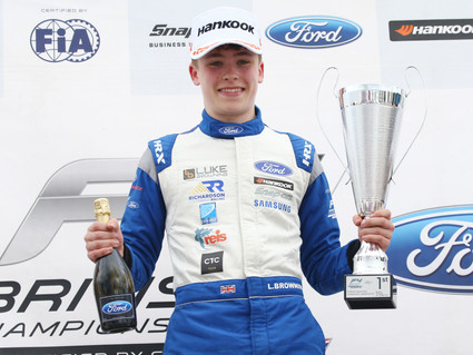 Richardson Racing secures second F4 victory at Thruxton