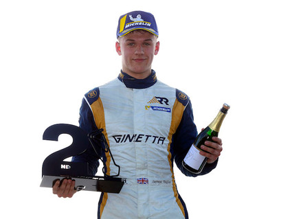 James Taylor re-signs with Richardson Racing for 2019 Ginetta Junior Championship