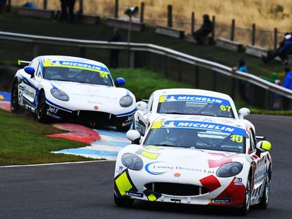 More podium success for Richardson Racing's Juniors at Knockhill