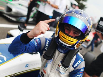 Richardson Racing battles to F4 podium at Snetterton