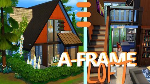 Tiny A-Frame Loft | House