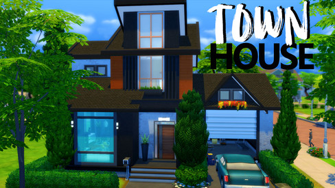 House   Contemporary Townhouse