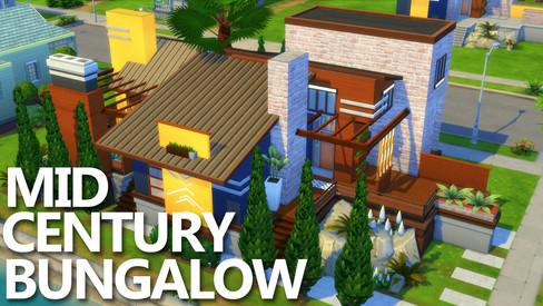 House | Mid Century Bungalow