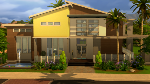 House | Modern Oasis