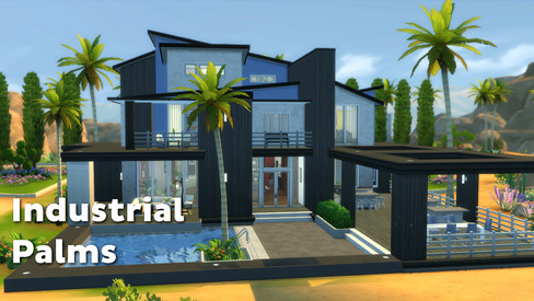 House | Industrial Palms
