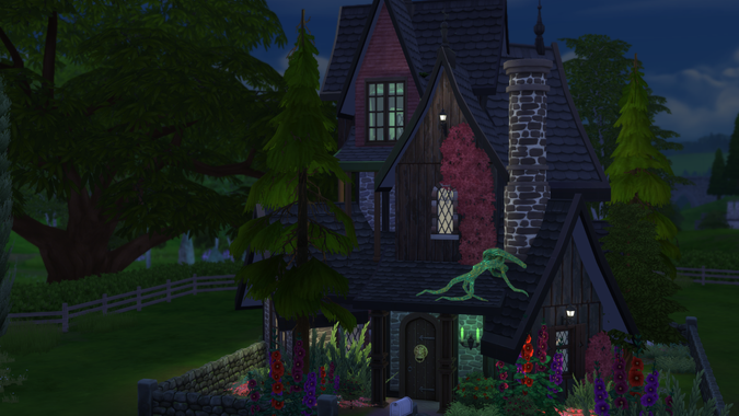 House The Burgandy Witch Steph0sims
