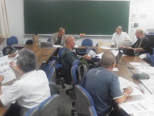 北海道東北臨床宗教師会の役員会の様子