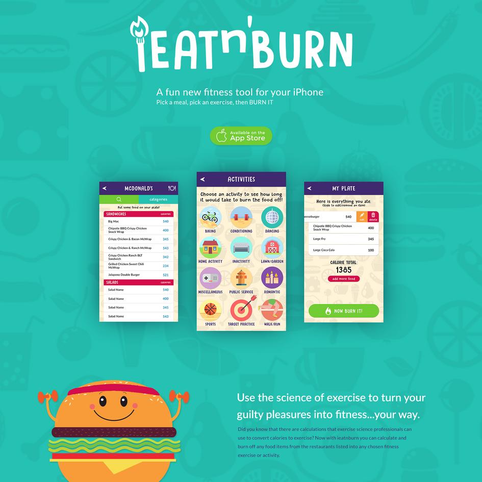iEatnBurn Website