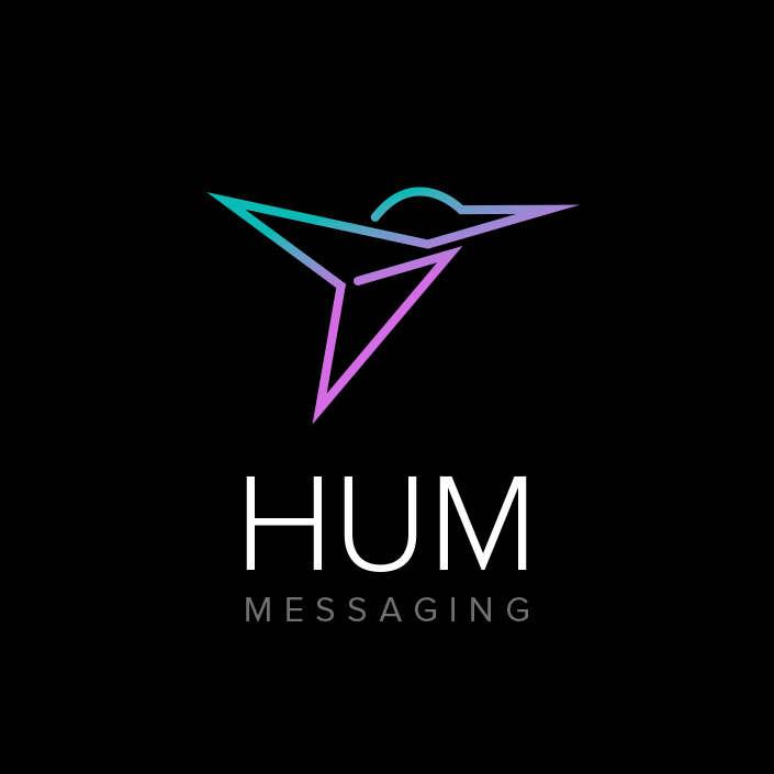 Hum Messaging Logo