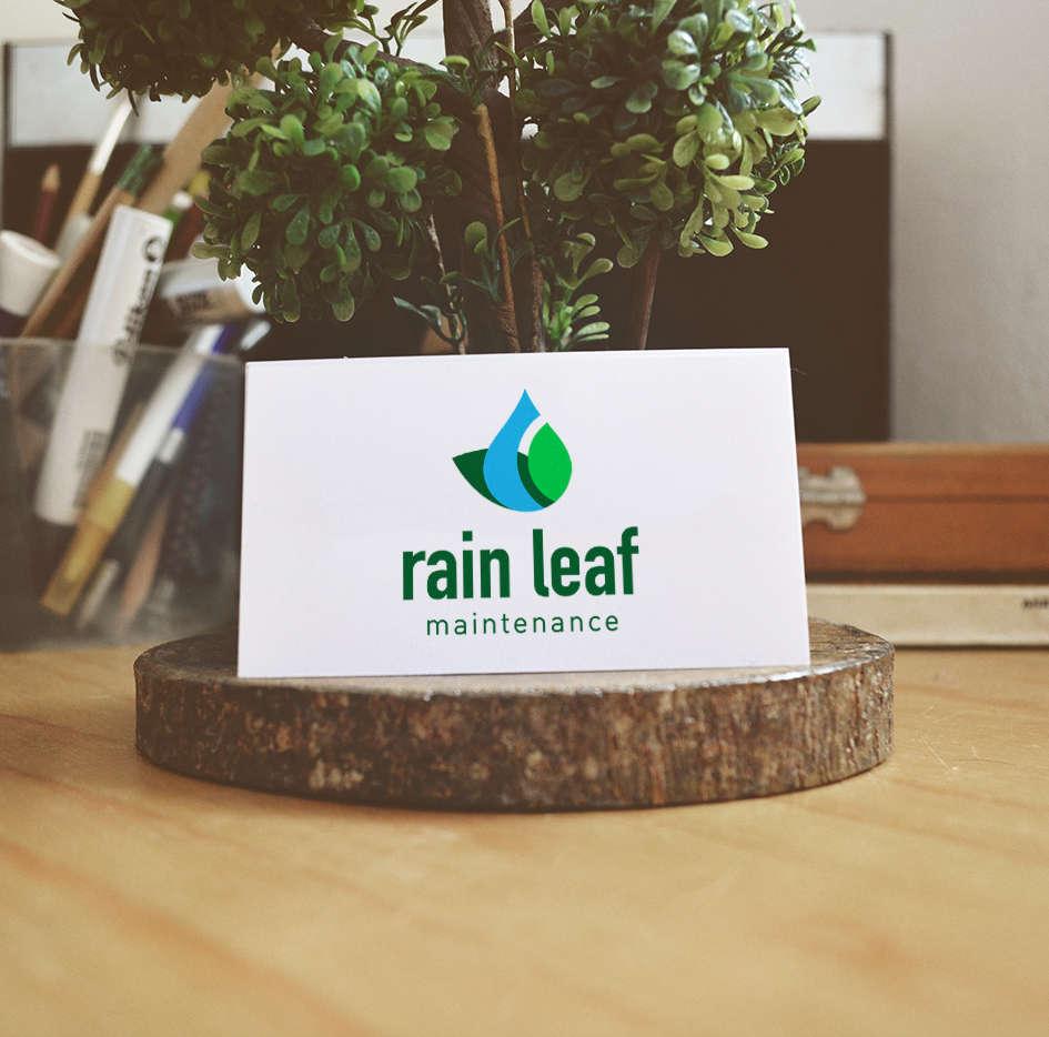 Rain Leaf Logo