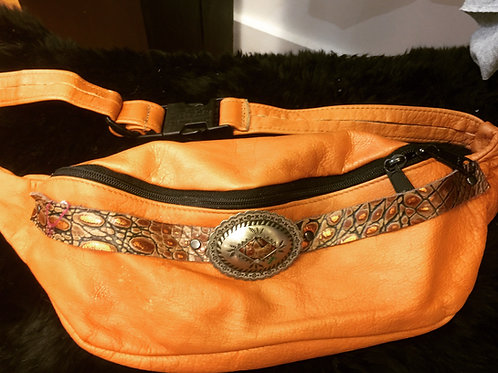 Upcycled Leather Fanny Pack