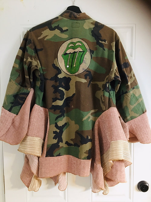 Upcycled Camouflage Army Fatigue
