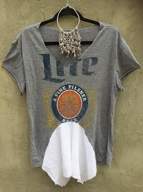 Miller Lite Upcycled Tee