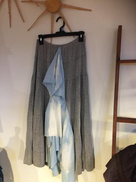 Upcycled Ruffle Prairie Skirt