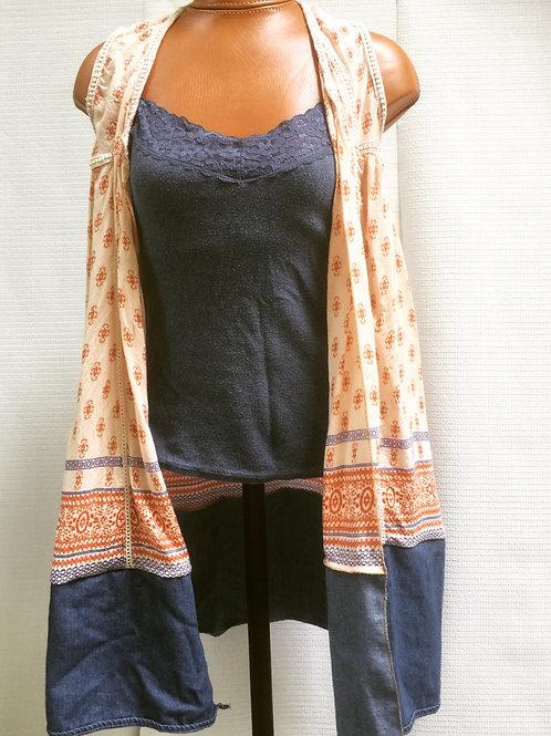 Upcycled Gypsy Vest
