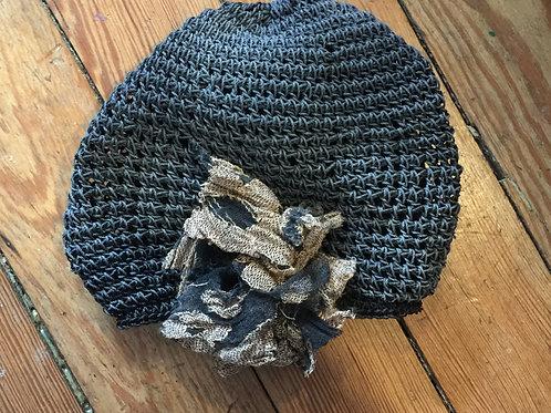Flapper Style Crochet Beanie