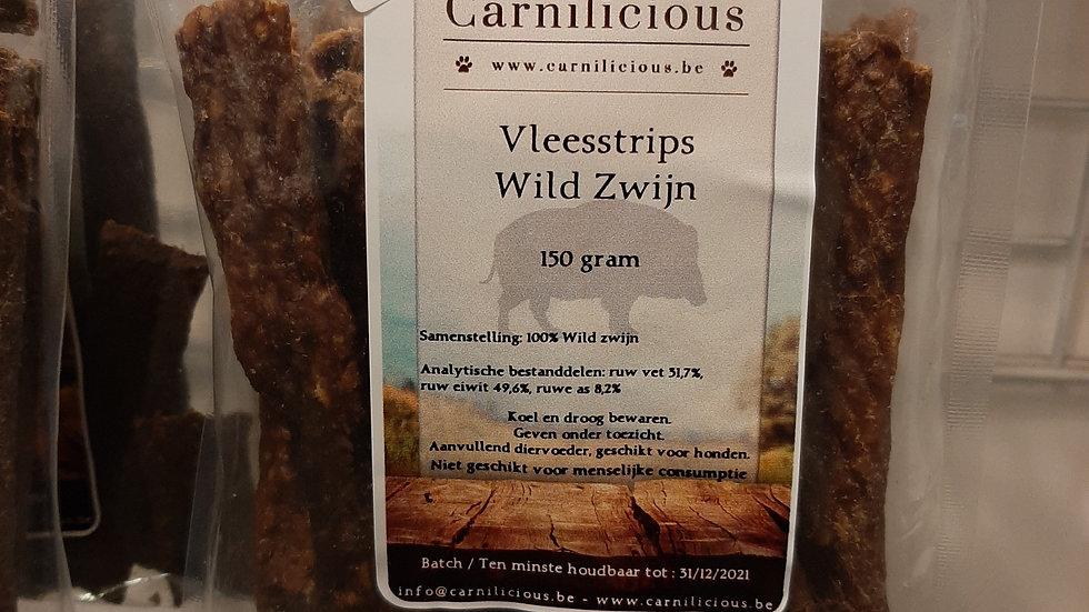Vleesstrips Wild Zwijn