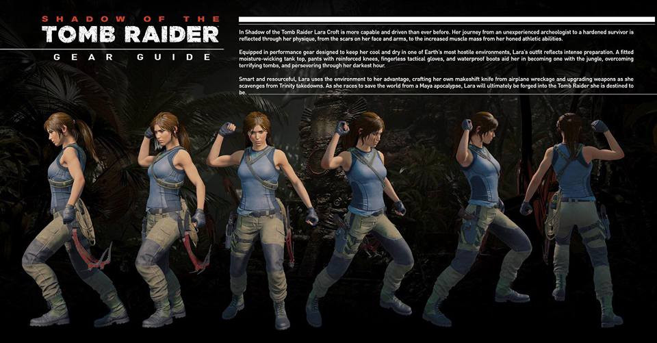 Lara S Shadow Of The Tomb Raider Outfit