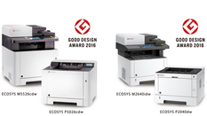 KYOCERA Document Solutions Inc. Wins Good Design Award 2016 for four A4 MFPs and Printers