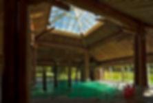 Photo des bains amérindien à Balnéa