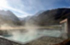 Photo des bains japonais à Balnéa