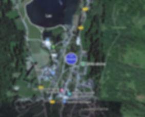 Vue satellite de Loudenvielle