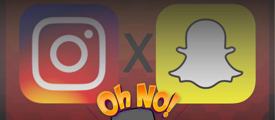 Intagram X Snapchat