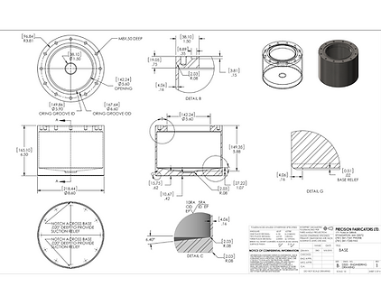 Pressure Vessels - DOT Cylinders - Bubblers Design and Engineering services