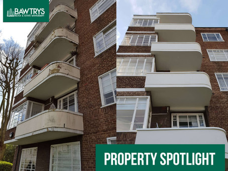 Property Spotlight – An Art Deco Residential Apartment Block of Flats in Hampstead.