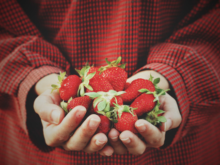Strawberries: a word solo