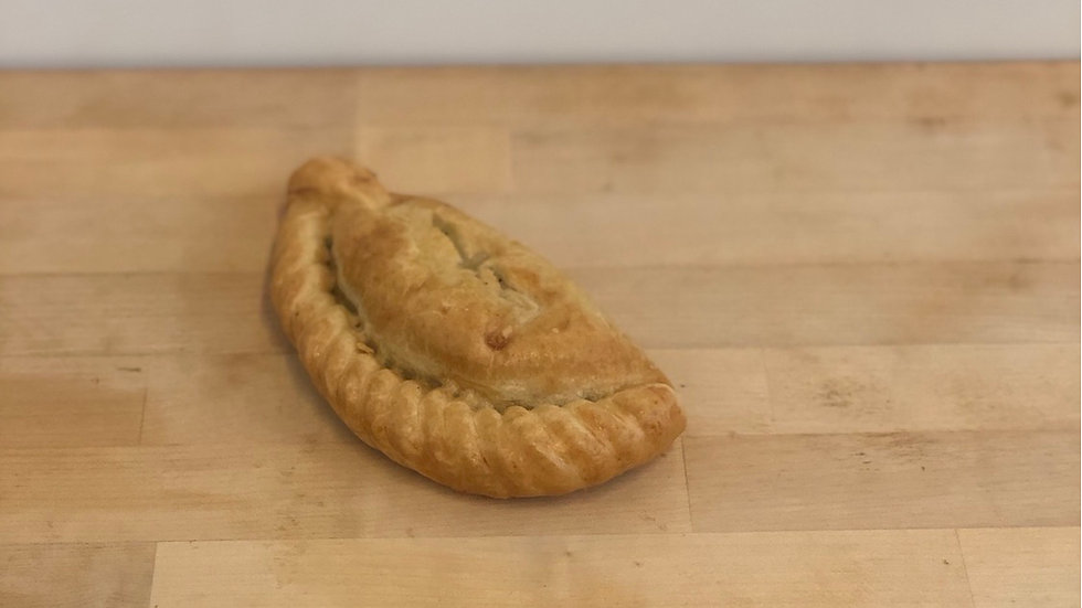 Proper Cornish Chicken, Bacon and Leek Pasty