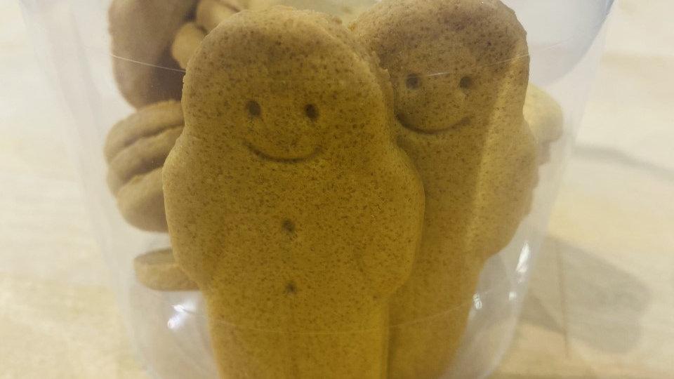 10 Mini Gingerbread