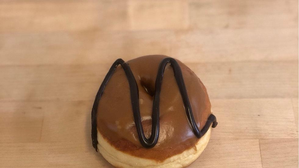 Caramel Iced Ring Donut