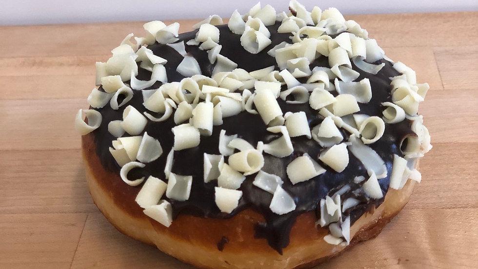 Chocolate Iced Ring Donut