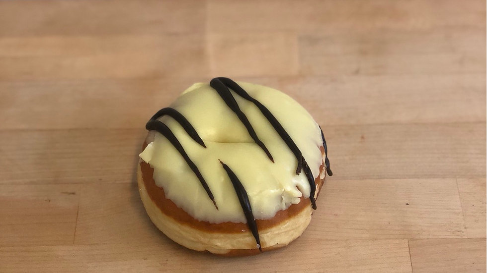 Lemon Iced Ring Donut