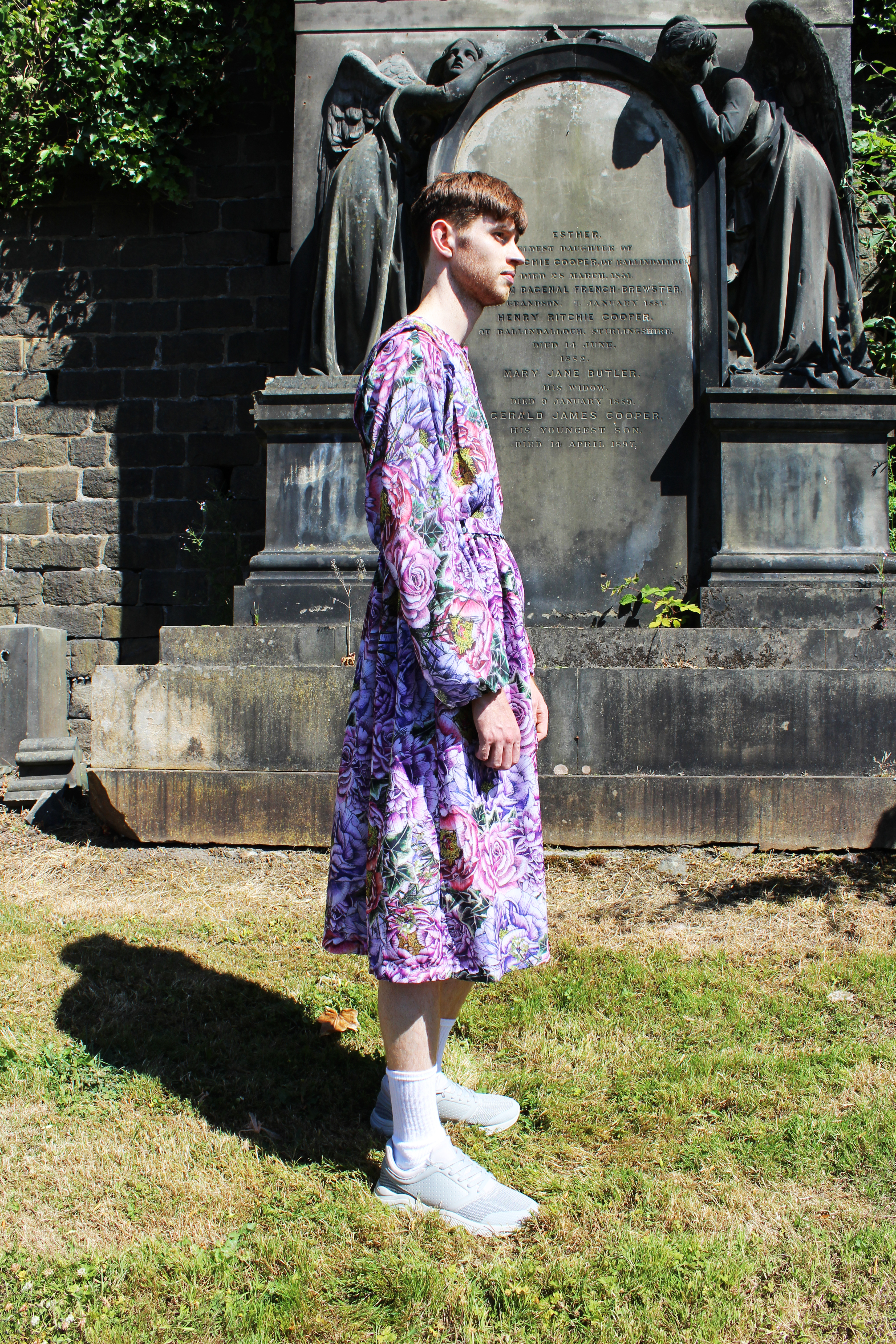 Menswear SS19 Print Mens dress