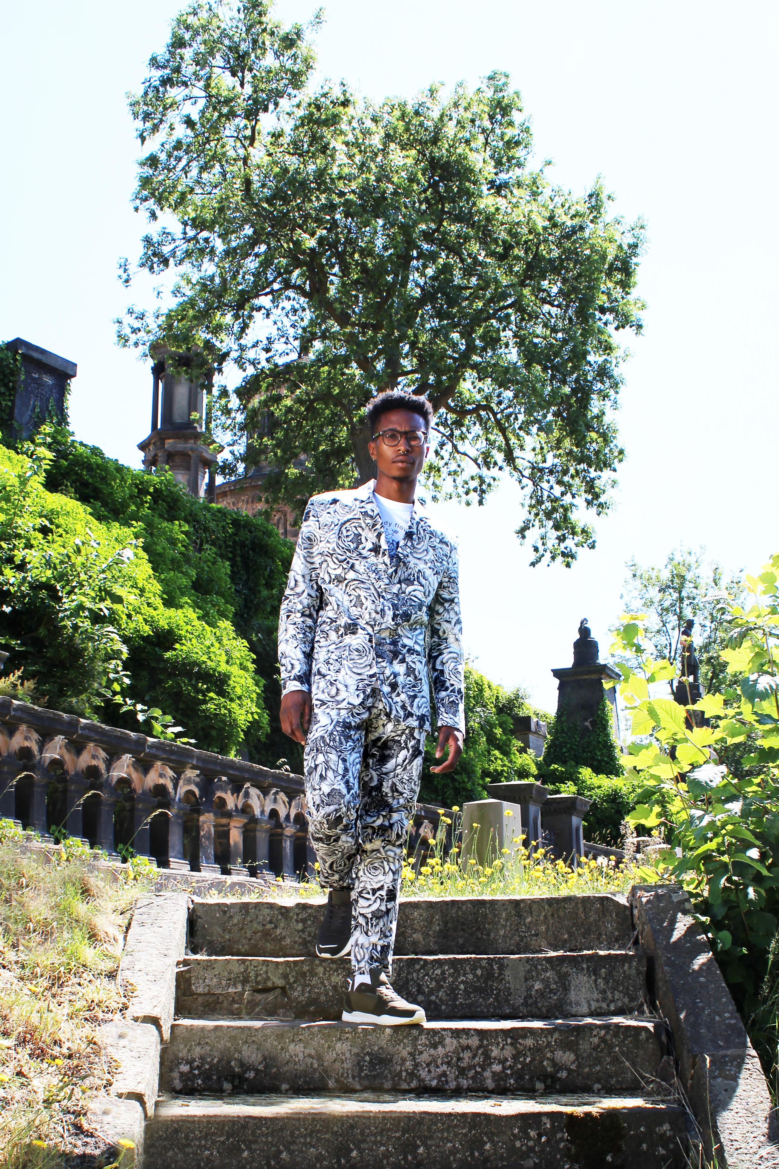 Menswear SS19 Monochrome suit