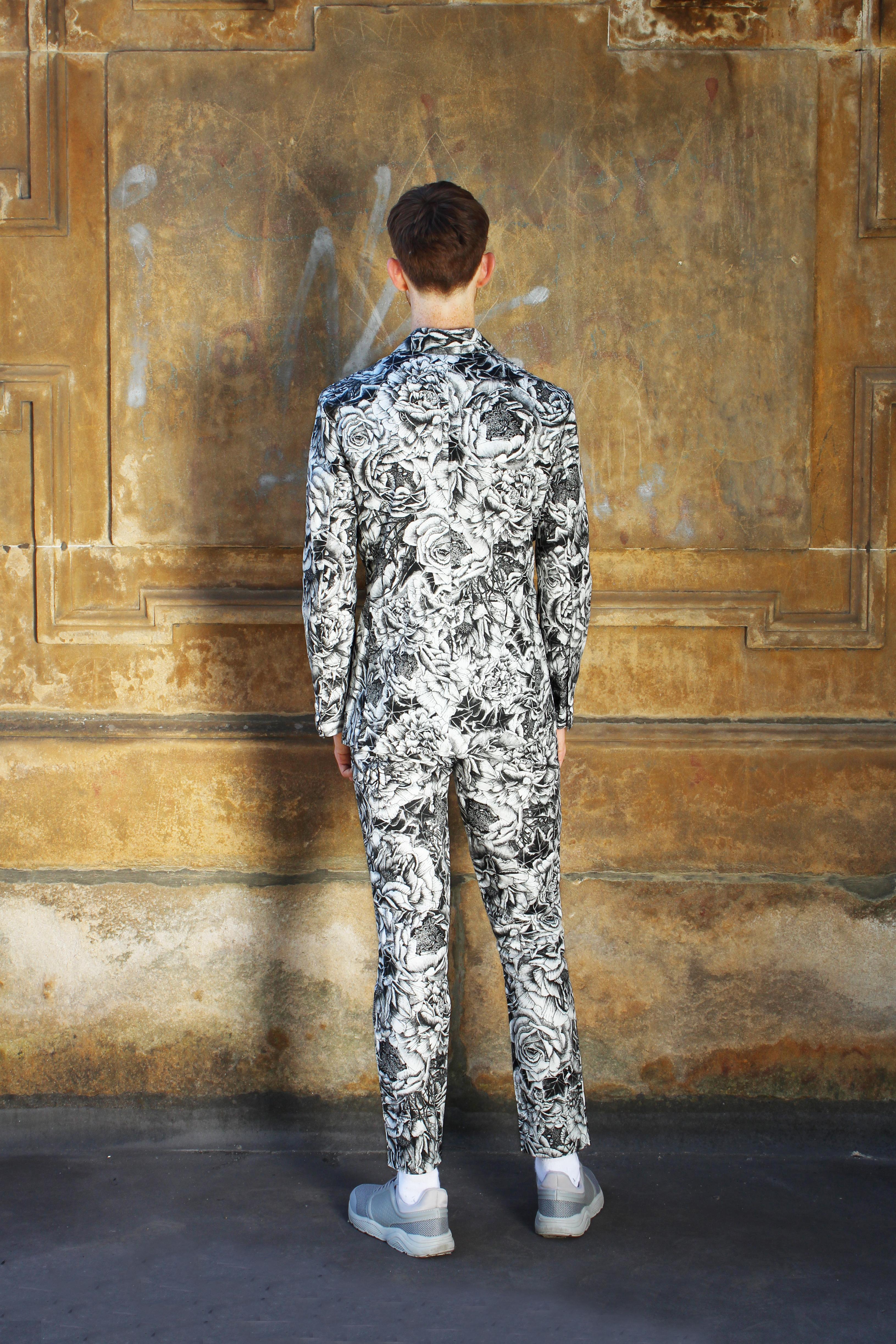 Menswear SS19 suit