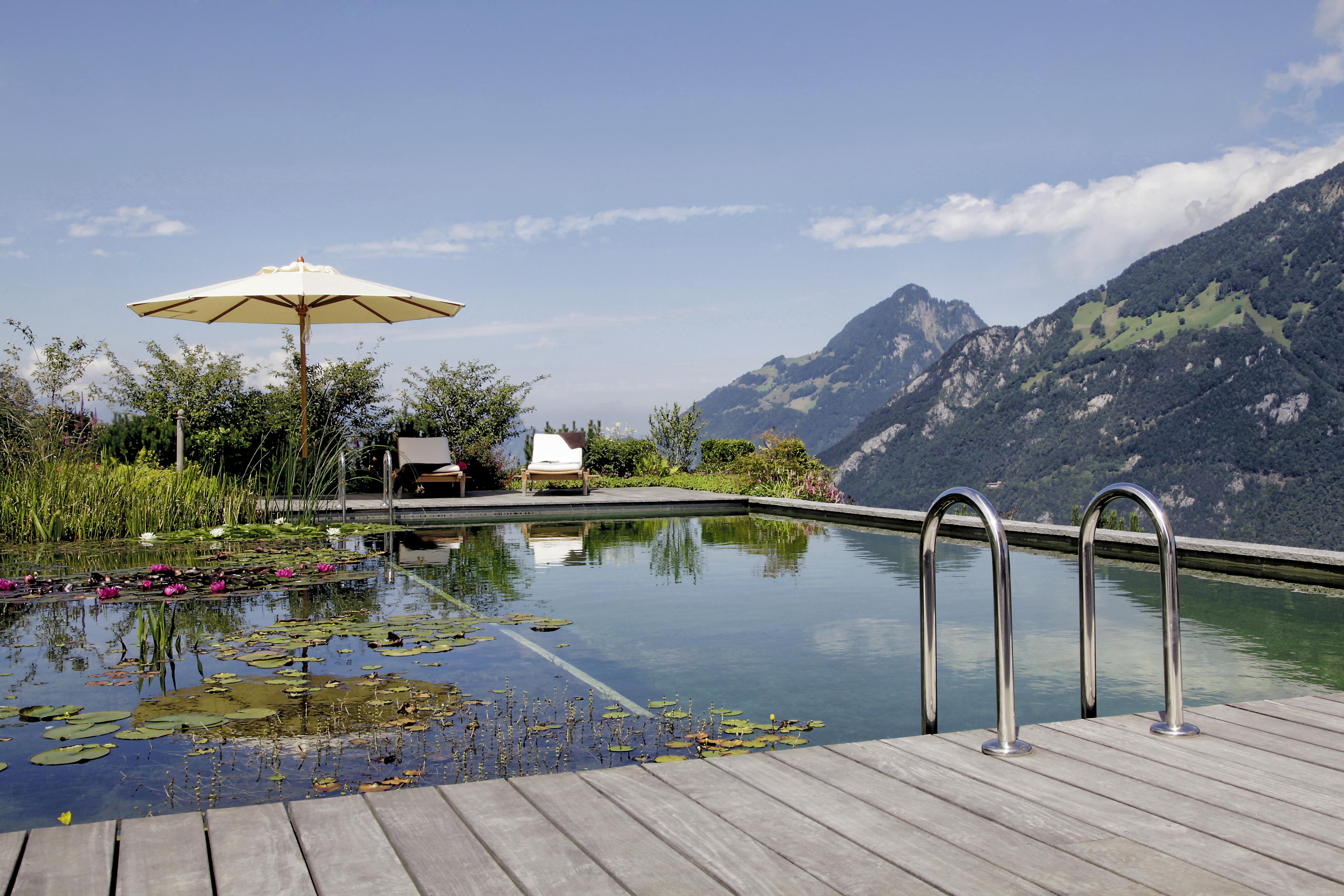 Auf der Sonnenterrasse - Schweiz