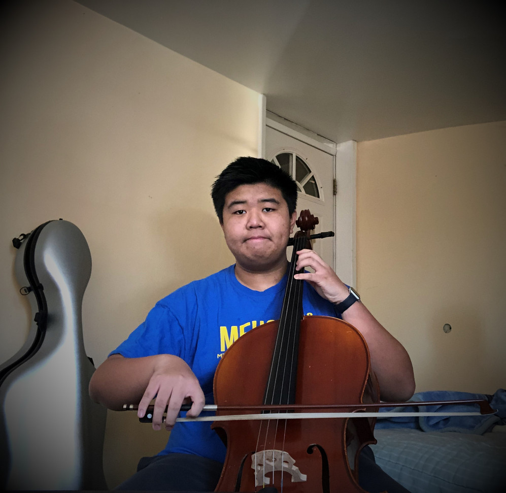 Featured Soloist - Jamie Huynh, Cello