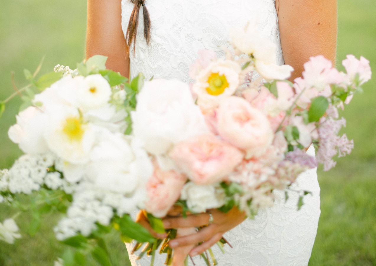 Late Spring Wedding Bouquet