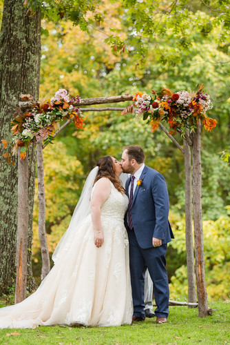 AUTUMN WEDDING ARBOR FLOWERS