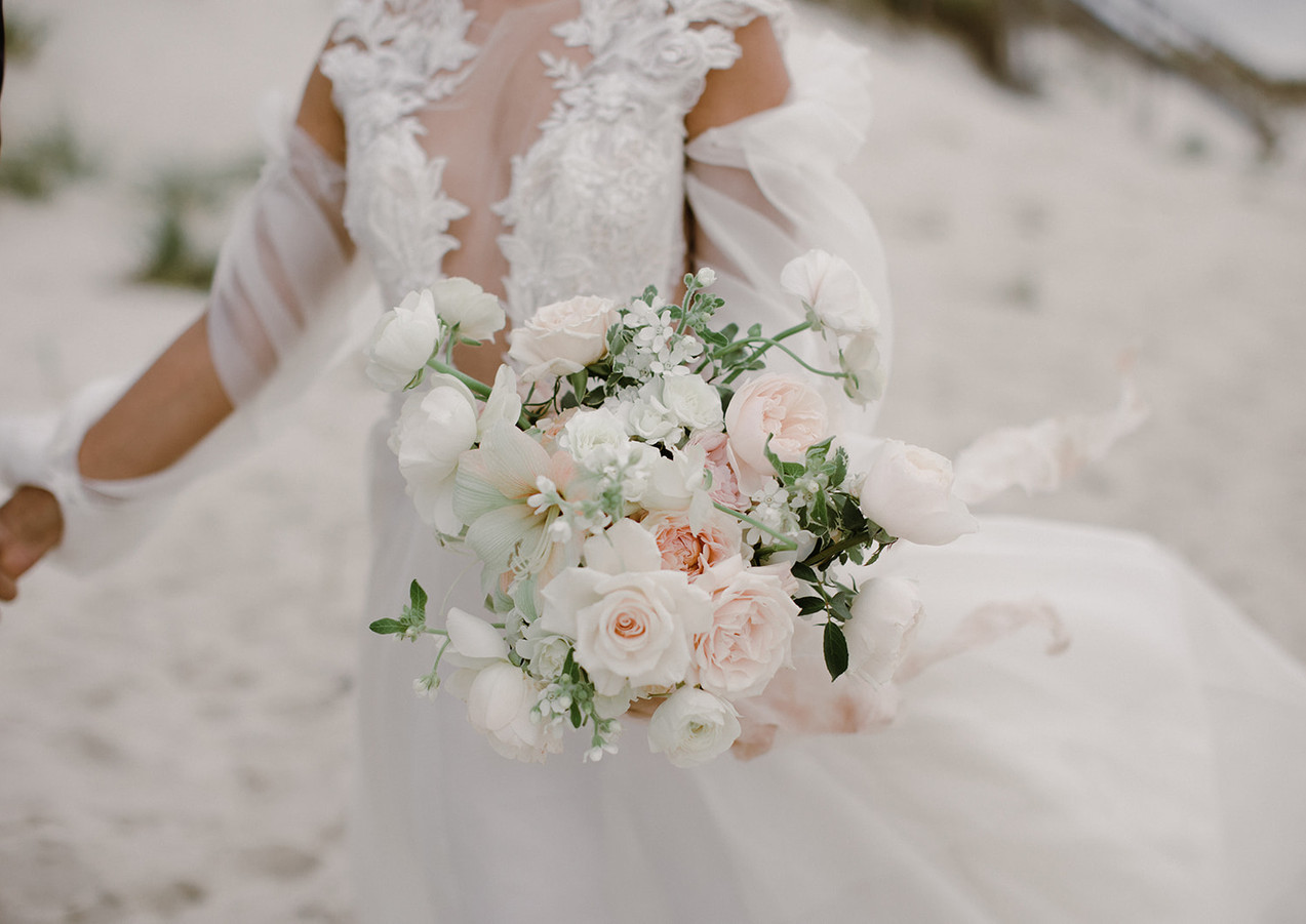 Fine Art Inspired Bouquet on Cape Cod