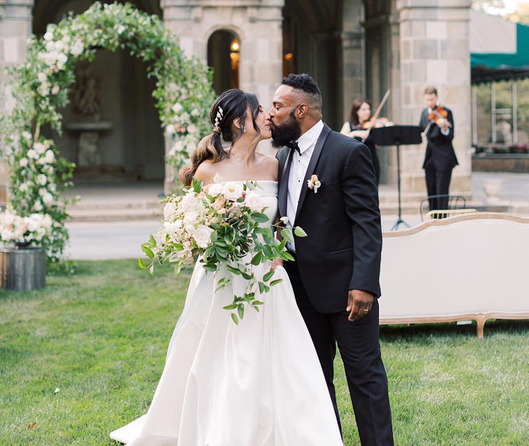 Summer Wedding at Glen Manor House