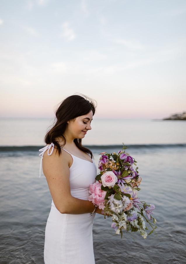 Sunset Toned Bouquet